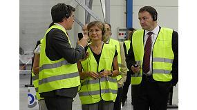 Foto de La ministra de Agricultura, Alimentación y Medio Ambiente inaugura la nueva fábrica de Molecor