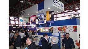 Foto de Epson 'causa impresión' en el certamen C! Print Madrid