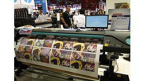 Foto de Roland lanza en C!Print su nueva impresora para sublimación Texart