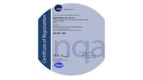 Foto de Spirol México, S.A. de C.V. anuncia su certificación ISO 9001:2008