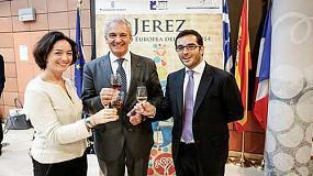 Foto de Los vinos de Jerez se promocionan en instituciones europeas