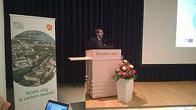 Foto de Un técnico de Cener habla en Finlandia sobre la rehabilitación energética en los edificios