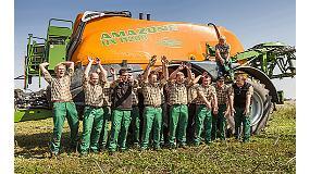 Foto de Amazone pulveriza un nuevo récord mundial tratando 1.032 ha en sólo 24 horas