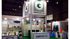 Foto de Granzplast presentó sus novedades en Expoquimia coincidiendo con su 25 aniversario