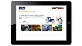 Foto de Trelleborg lanza la App 'Tire Efficiency' para promover el concepto de Coste Total de la Operación para los Agricultores
