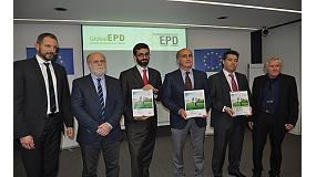 Foto de Primeras Declaraciones Ambientales de Producto (DAP) de Aenor con reconocimiento europeo