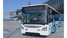 Foto de La EMT de Málaga estrena el primer Iveco Bus Urbanway Euro 6 que llega a España