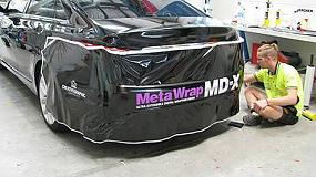 Foto de M2M Sistemas presentó en C!Print Madrid los revolucionarios vinilos MetaWrap MD-X