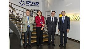 Foto de Izar recibe la visita de la secretaria general de Industria del Gobierno de España