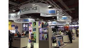 Foto de Roland presenta sus novedades y soluciones en la feria C!Print Madrid