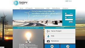 Foto de Jofemar y Cener estrenan la web del proyecto Life Factory Microgrid