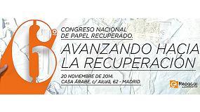 Foto de Repacar prepara el VI Congreso Nacional de Papel Recuperado: avanzando hacia la recuperación
