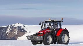 Foto de Trelleborg es un partner clave en la expedición de un tractor al Polo Sur