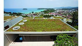 Foto de Knauf Insulation presenta un sistema de cubierta verde para un desarrollo urbano sostenible