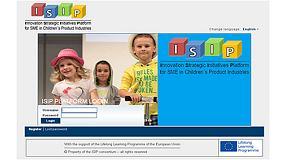 Foto de Aiju presenta la plataforma Isip que permite a la Pyme del sector de productos infantiles y ocio elaborar planes de innovación