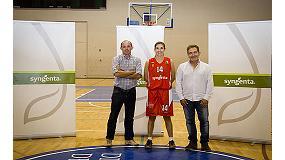 Foto de Syngenta patrocina al equipo femenino del Club Baloncesto Almería