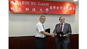 Foto de Arburg coopera con la Universidad Ming Chi de Taiwan