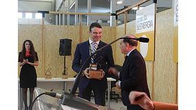 Foto de La empresa BioCurve, ganadora del primer premio a la Innovación Tecnológica de Expobiomasa 2014
