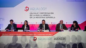 Foto de Primer estudio de cálculo y certificación de huella de agua en el sector alimentario en España