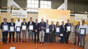 Foto de Nueve empresas españolas reciben el certificado en Expobiomasa