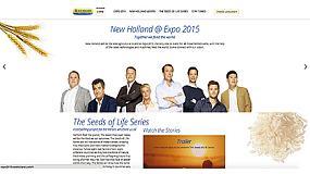 Foto de New Holland Agriculture presenta su nuevo proyecto de comunicaciones para la Expo Milán 2015