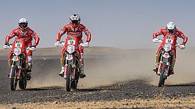 Foto de La multinacional energética Himoinsa irrumpe en el Dakar 2015 con equipo propio