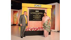 Foto de Con la inauguraci�n de dos nuevas f�bricas en Jaipur, JCB celebra 35 a�os de �xitos en India