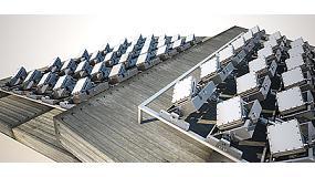 Foto de Un novedoso panel solar que sigue al sol genera entre un 30% y un 40% más de energía