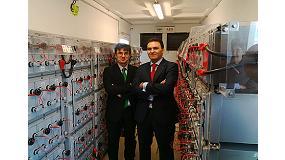 Foto de Iberdrola, AEG y Tecnalia presentan un sistema de baterías para almacenar energía eléctrica