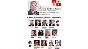 Foto de Audiotec recibe el premio a la 'Calidad' en la III Edición de los Premios Ejecutivos Castilla y León