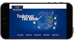 Foto de La app Tire Book de Trelleborg ahora disponible para todos los dispositivos móviles