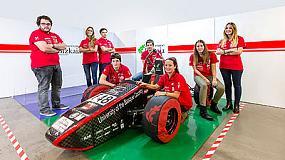 Foto de Izar colabora en Formula Student