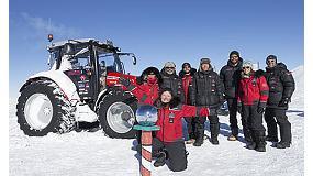 Foto de Trelleborg y Massey Ferguson conquistan el Polo Sur