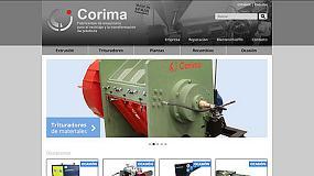 Foto de Corima estrena página web