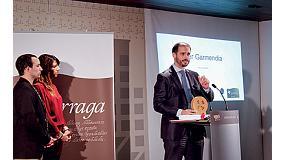 Foto de Ega Master, premiada por la Diputación Foral de Álava y Bai Euskarari en los Premios Lazarraga