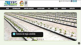Foto de Ritec renueva su página web