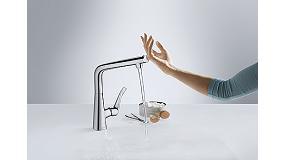 Foto de Hansgrohe incorpora la tecnología inteligente Select en la grifería de cocina Metris