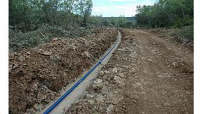Foto de Saint-Gobain PAM España participa en el suministro de aguas de Bárcabo
