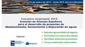 Foto de Asagua y Aqua España organizan el encuentro empresarial 'Creación de Alianzas Españolas para el desarrollo de Proyectos de Agua´