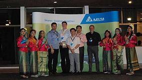 Picture of Avnet Abacus consigue el premio 'Top Partner in EMEA Sales 2014' de Delta Electronics