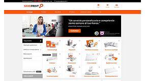 Foto de Saxoprint inaugura portal web en Italia