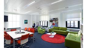 Foto de Dise�o e innovaci�n en las nuevas oficinas de Tuenti con techos Armstrong