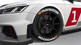 Foto de Hankook se convierte en el proveedor exclusivo de neumáticos de la nueva Copa Audi Sport TT Cup