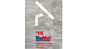 Foto de BigMat convoca la segunda edici�n del premio �BigMat 2015 International Architecture Award�