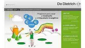 Foto de De Dietrich apuesta por el �ecodise�o� y crea una web con informaci�n relativa a la normativa ErP y de etiquetado energ�tico