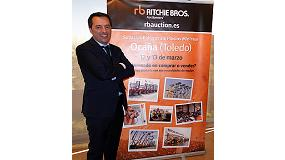 Foto de Entrevista a Valero Serentill, gerente regional de Ventas de Ritchie Bros. Auctioneers