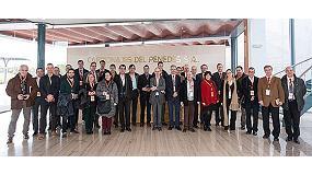 Foto de Empresas del clúster catalán de automoción visitan las instalaciones de Tecnicarton en Cataluña