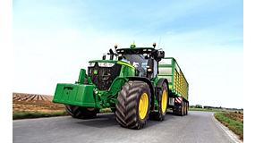 Foto de John Deere y su tractor serie 7R marcan nuevo récord de eficiencia