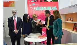 Fotografia de El sector de los frutos rojos de Huelva consolida sus mercados europeos y abre nuevas v�as de negocio en Fruit Logistica