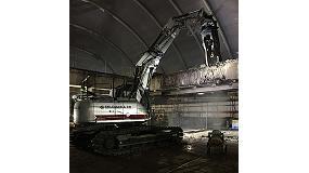 Foto de JCB desarrolla una excavadora con control remoto